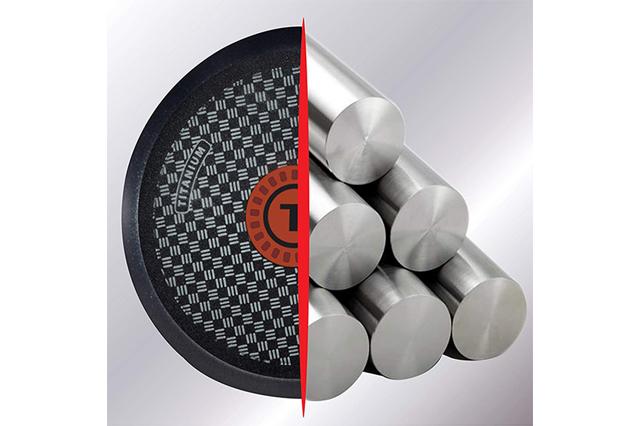 Cookware with titanium material