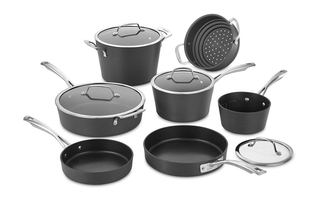Cuisinart Conical Hard Anodized Cookware Set