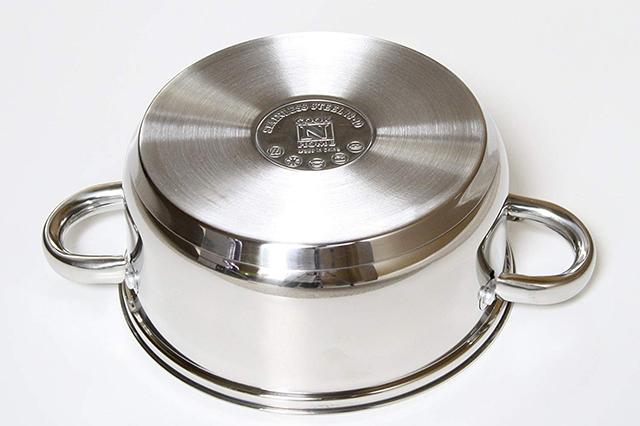 Flat base cookware