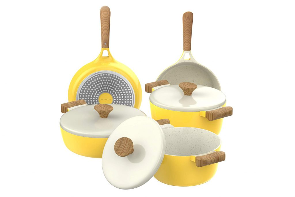 Vremi Ceramic Nonstick Cookware Set