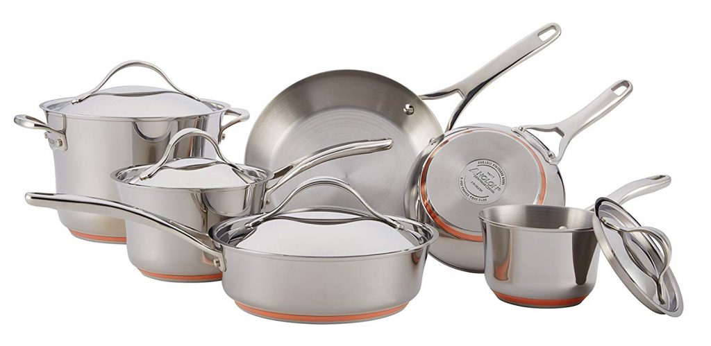 10-piece Stainess Steel Cookware Set