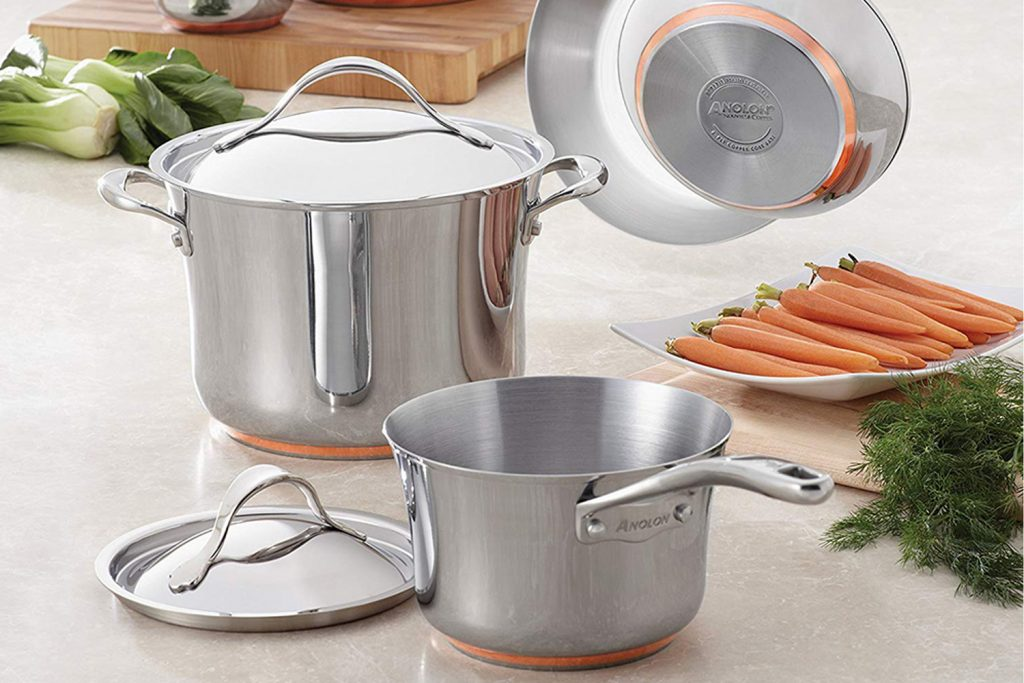 Anolon Stainless Steel Cookware