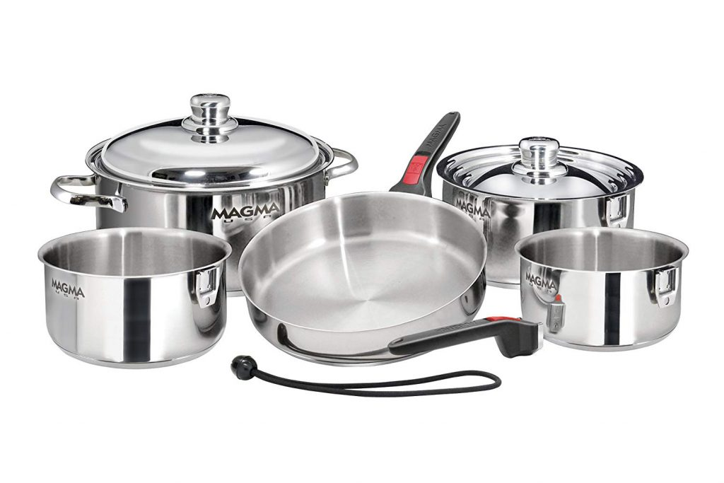 Magma Stainless Steel Cookware Set