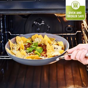 GreenPan ceramic cookware is safe to use in the oven