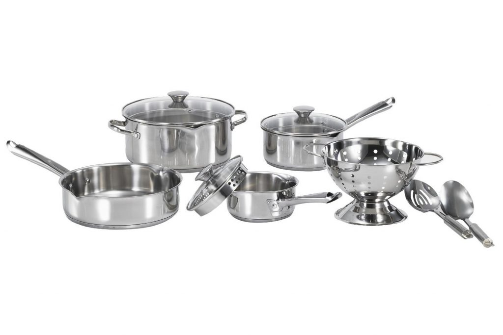 WearEver Stainless Steel Cookware Set