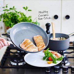 GreenPan cookware has a healthy ceramic coating