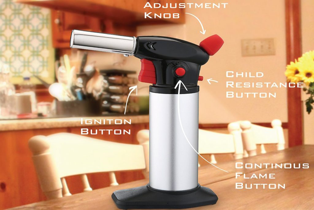 Kitchen Sophisticate Professional Culinary Torch