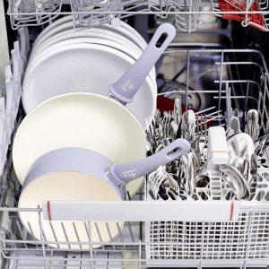 GrennLife Cookware set is dishwasher safe