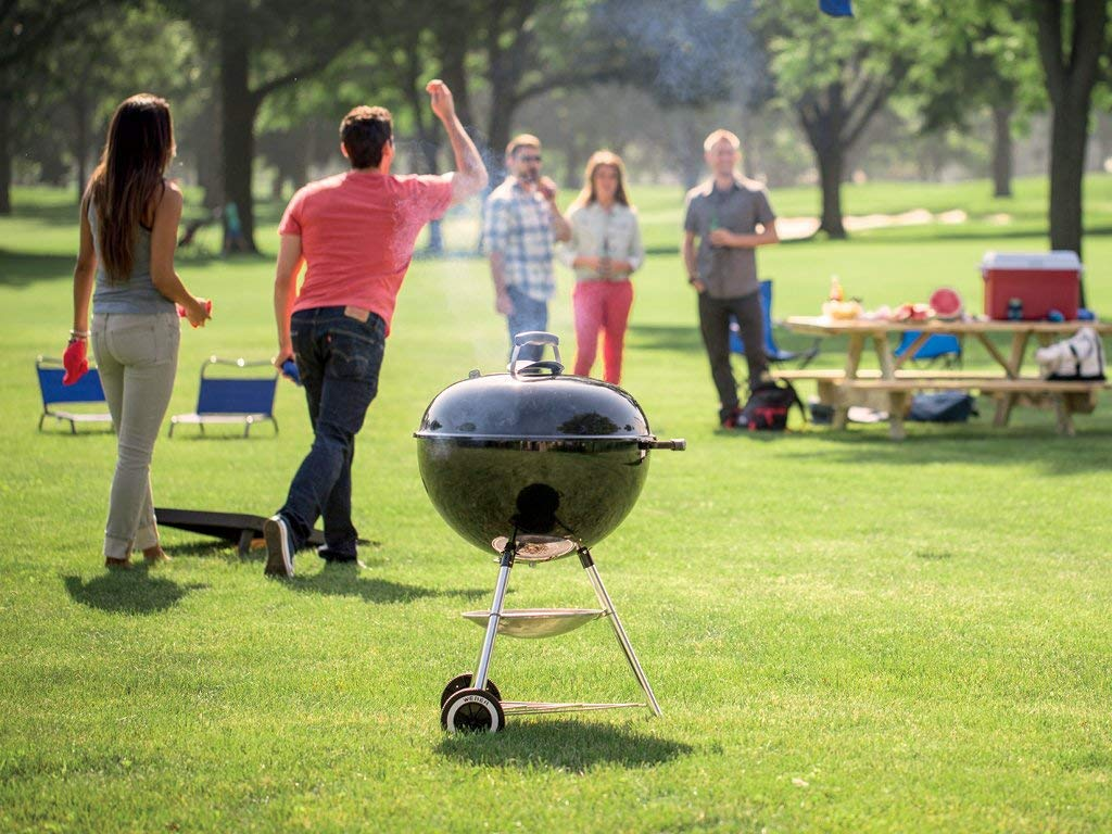 Benefits of Charcoal Grill: Portable