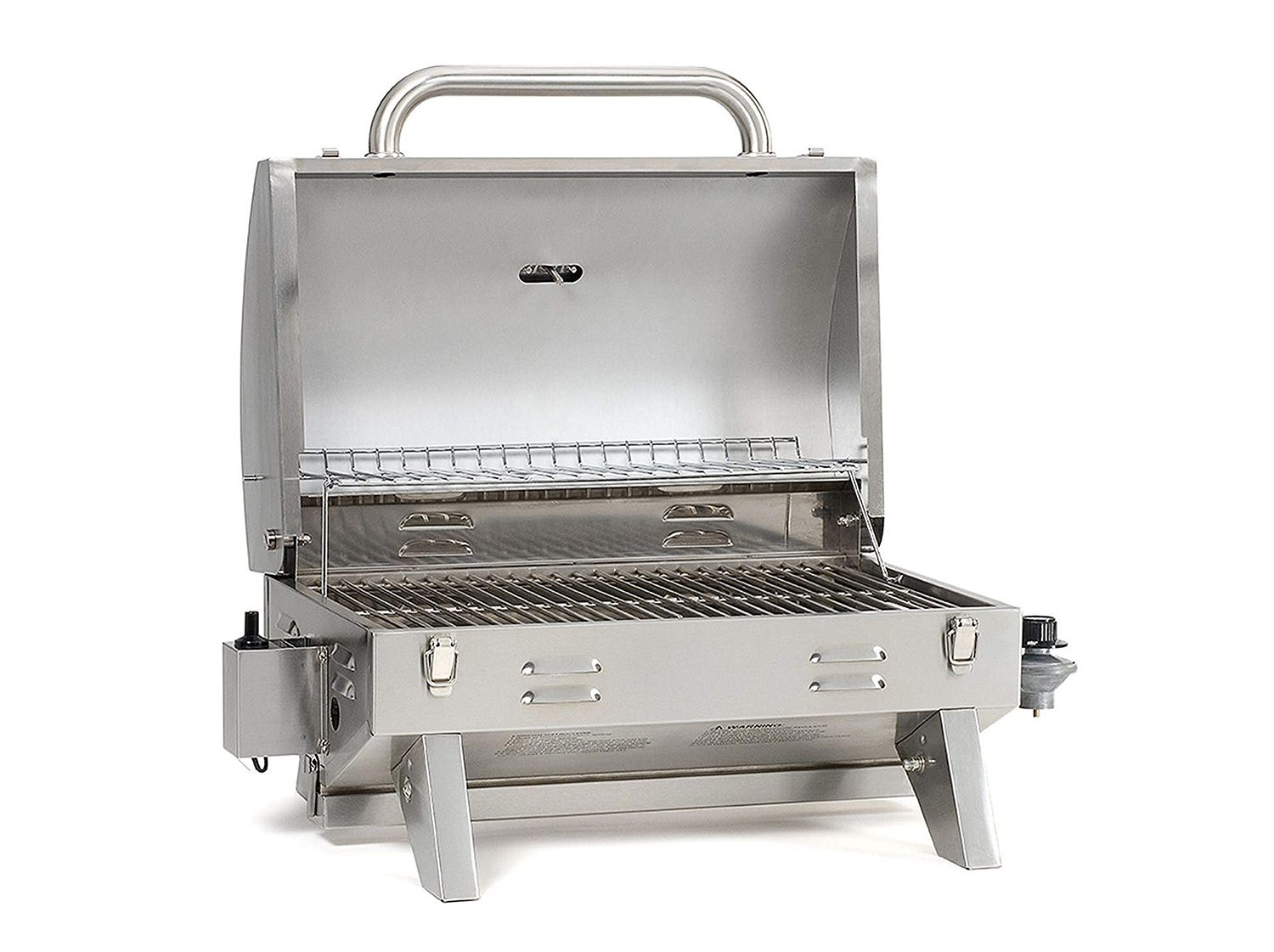 Smoke-Hollow-205-Stainless-Steel-TableTop-Propane-Gas-Grill