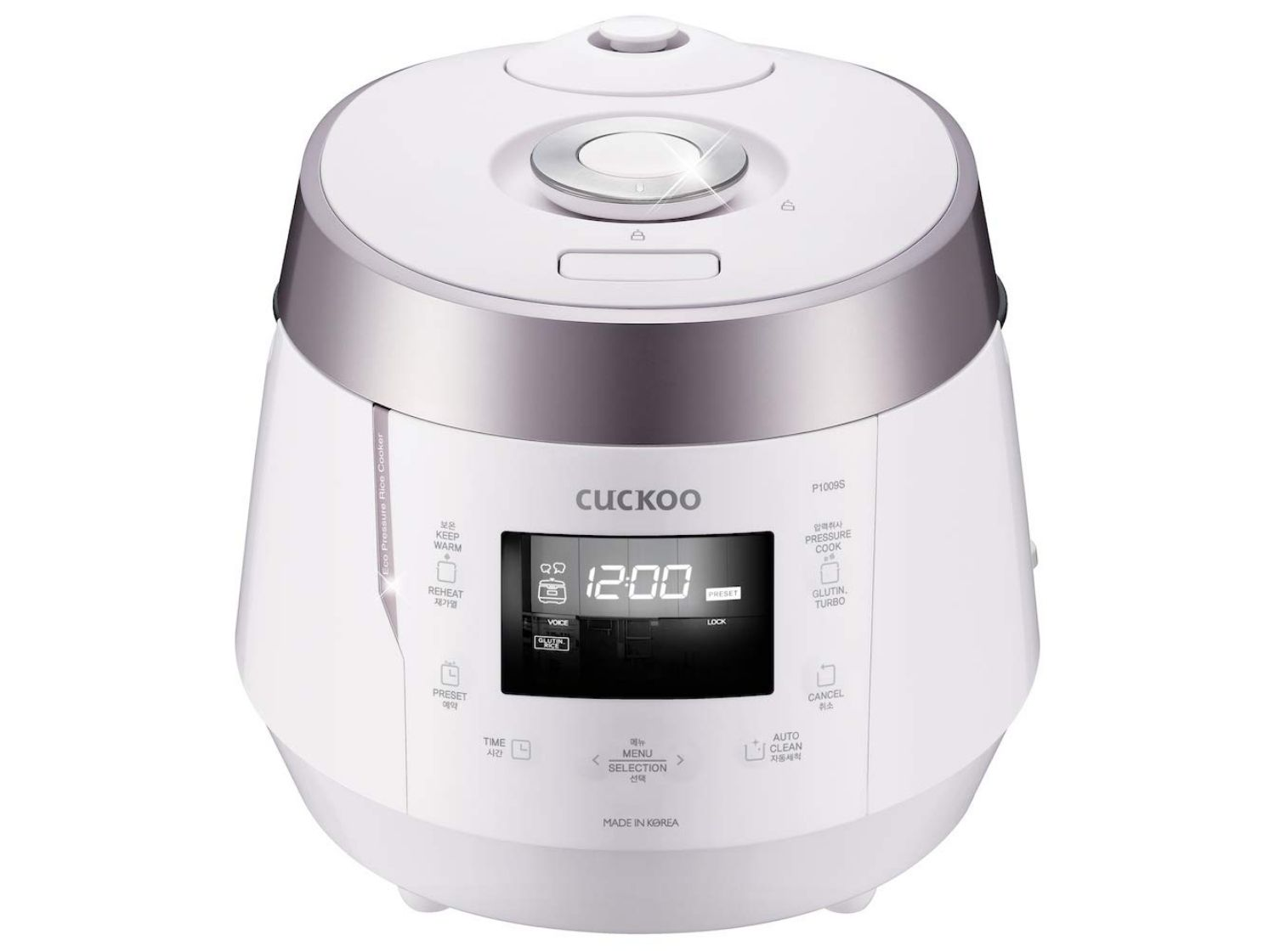Cuckoo CRP-P1009SW Electric Heating Pressure Rice Cooker